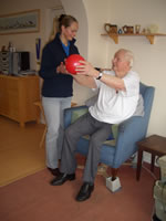 Residents of Care Homes are able to improve their quality of life due to Physiotherapy